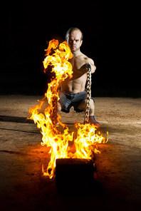 Jeremy Hallam - Fire shoot