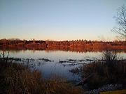 Saskatchewan River walk with my bestie D
