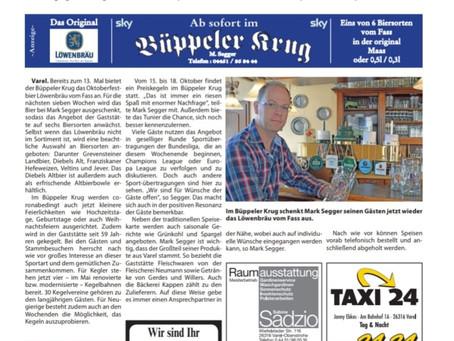 Zeitungsartikel aus dem Friebo