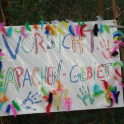 Vorsicht Apachen-Gebiet