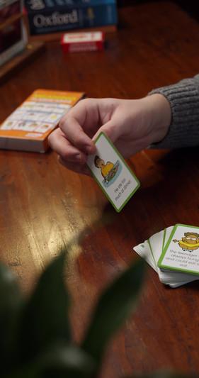 Flashcards per il corso di inglese con Comunicazione Aumentativa e Alternativa. Scopri di più!
