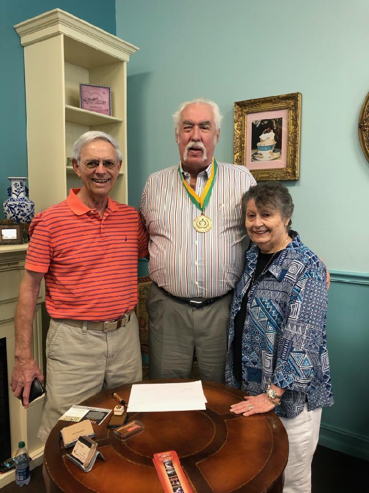 John and Sally Mescher, AYC neighbors and loyal fans