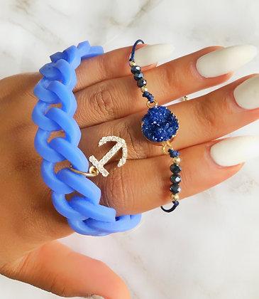 ANCHORS AWAY - BLUE