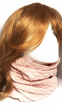 3 in 1 Scarf | Quilted Pink