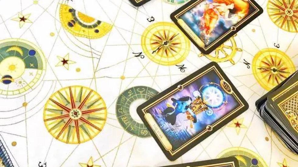 Tarot Reading Mat   Alter Cloth   Mediation