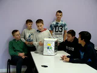 Pitch maquette par les élèves