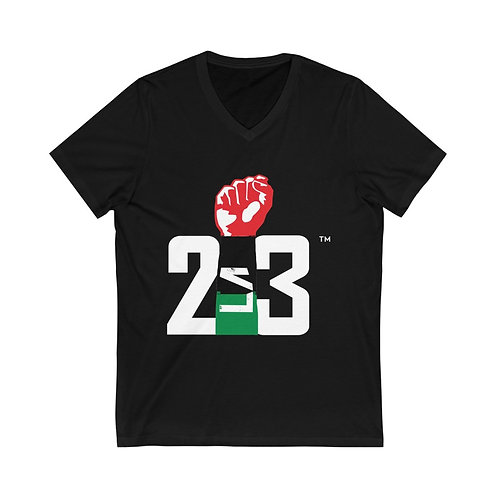 213 REP YO CITY // SPECIAL EDITION: Unisex Jersey Short Sleeve V-Neck Tee