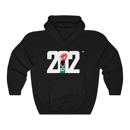 202 REP YO CITY // SPECIAL EDITION: Heavy Blend™ Hooded Sweatshirt