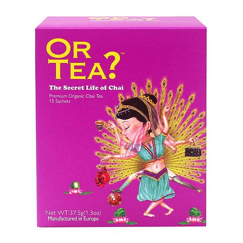 La vie secrète de Chai - Thé noir aux épices (37,5 g) La vie secrète de Chai -
