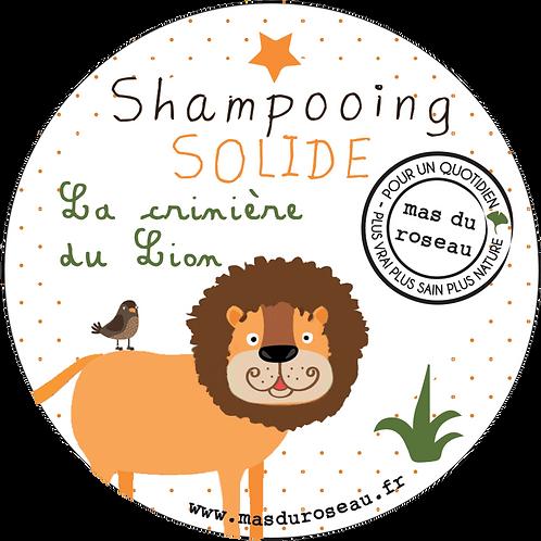 SHAMPOOING SOLIDE La crinière du lion !