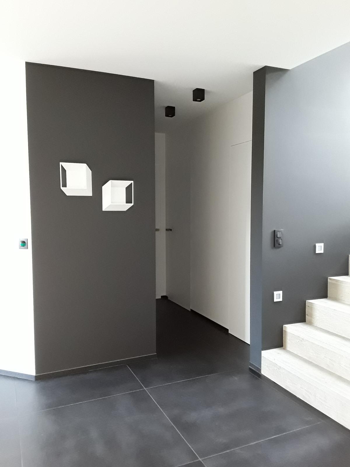 Hall D Entrée Moderne luminaire moderne, aménagement hall d'entrée