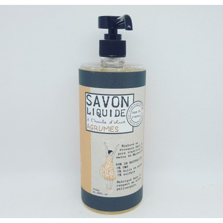Savon BIO liquide Agrume  750ml