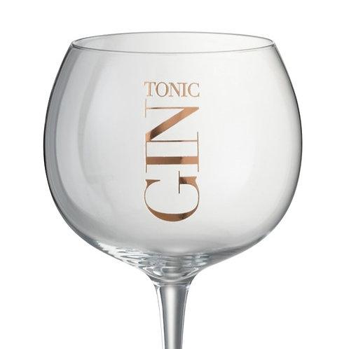 Verre Gin Tonic Cuivre