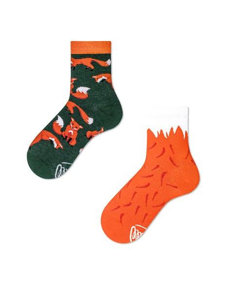 chaussettes dépareillées Fox