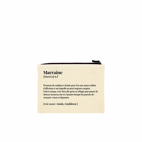 Pochette Marraine