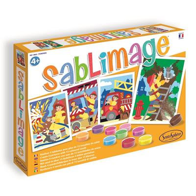 SABLIMAGE - POMPIERS