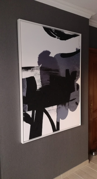 toile moderne
