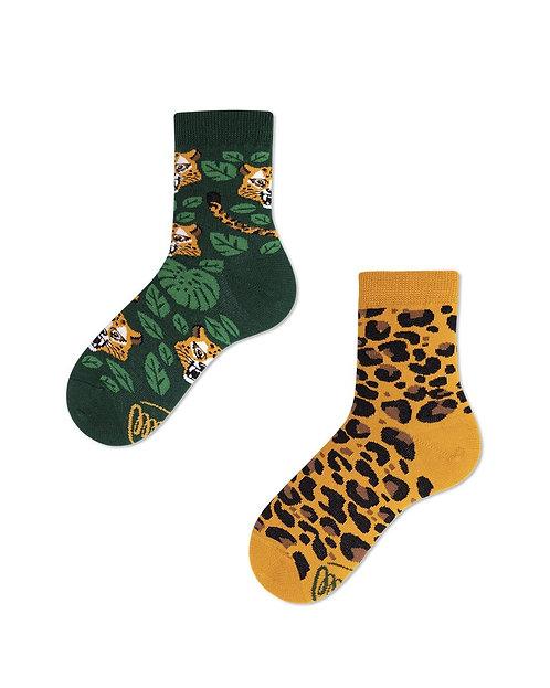 chaussettes dépareillées Leo