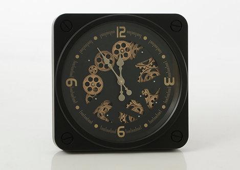 Horloge avec mécanisme  49cm Noire