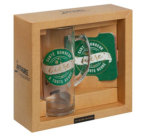 """Set-cadeau bière """"Bonheur"""""""