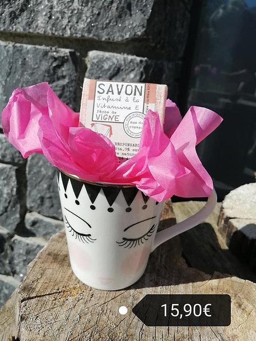 Mug + savon