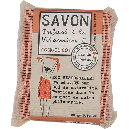 Savon Végétal Coquelicot