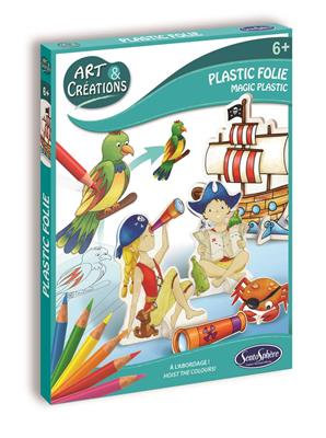 ART & CRÉATION - PLASTIC FOLIE - PIRATES