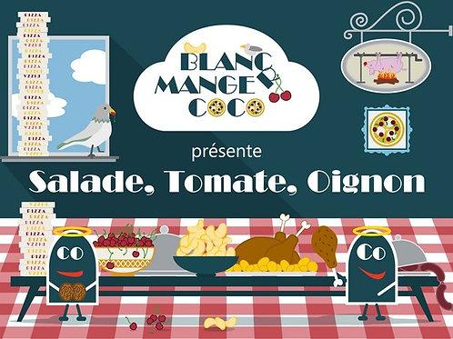 Blanc-Manger Coco - Salade, Tomate, Oignon