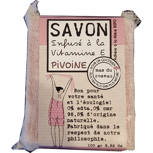 Savon Végétal PIVOINE
