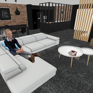 aménagement salon