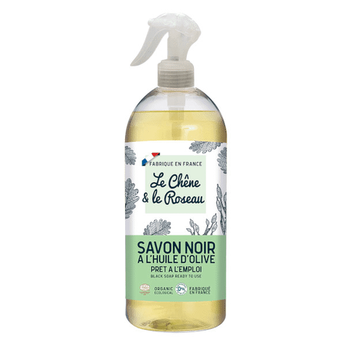 Spray Savon Noir Olive Naturel 500ml