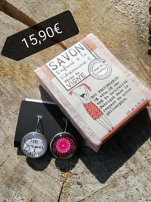 Boucle d'O + savon