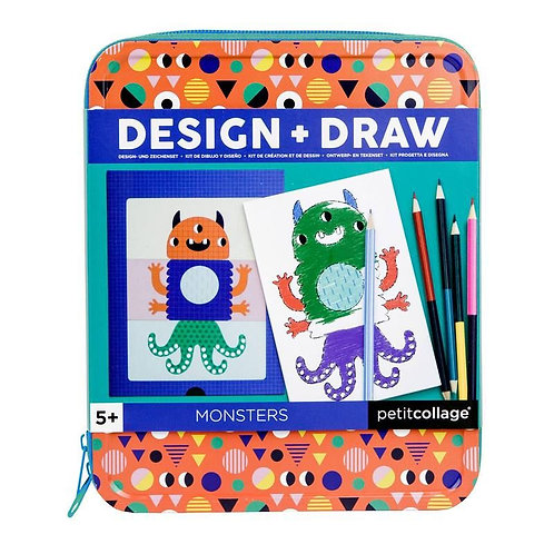 Design + Dessin - Monstres