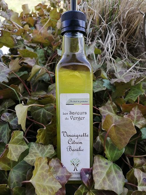 Vinaigrette Citron et Basilic