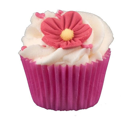 Mini Cupcake Fraise BAIN ET DOUCHE