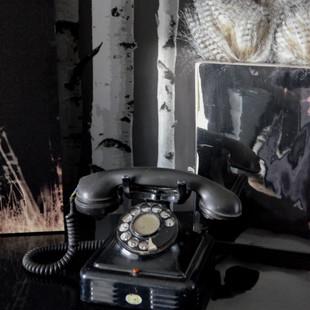 vieux téléphone brocante