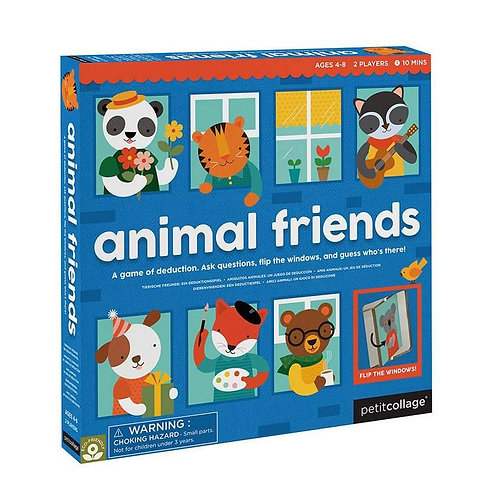 Jeu - les amis des animaux