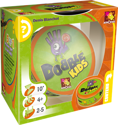 DOBBLE - KIDS (VERSION FRANCO-NÉERLANDAISE)