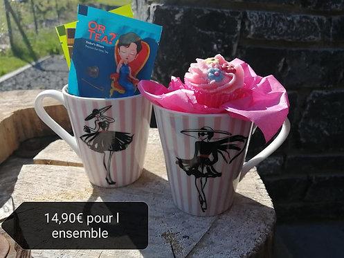 Tasses + thé + cup