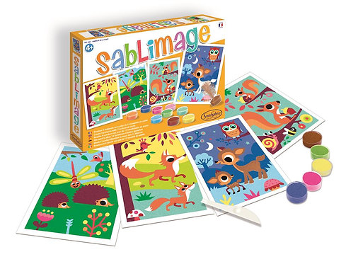 SABLIMAGE - ANIMAUX DE LA FORÊT