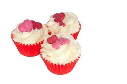 Mini Cupcake Cranberry BAIN ET DOUCHE