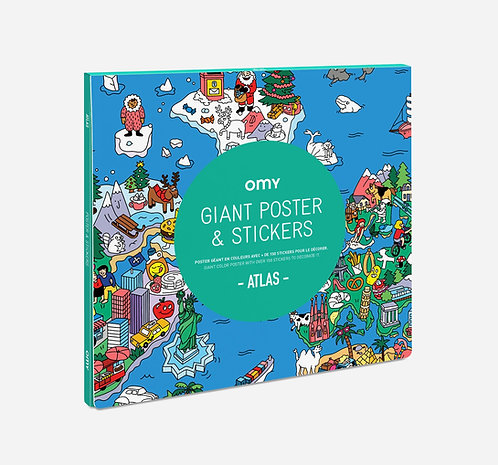 POSTER & STICKERS - ATLAS