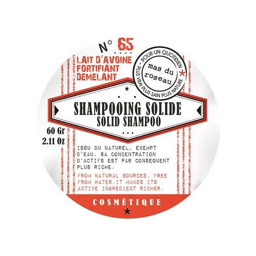 Shampooing Solide Lait d'Avoine - fortifiant démêlant - 60g
