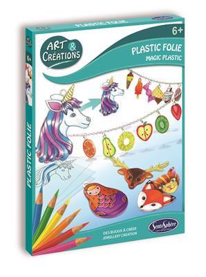 ART & CRÉATION - PLASTIC FOLIE - BIJOUX