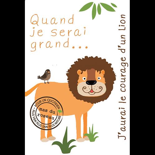 SAVONNETTE ZOO Le courage d'un lion !