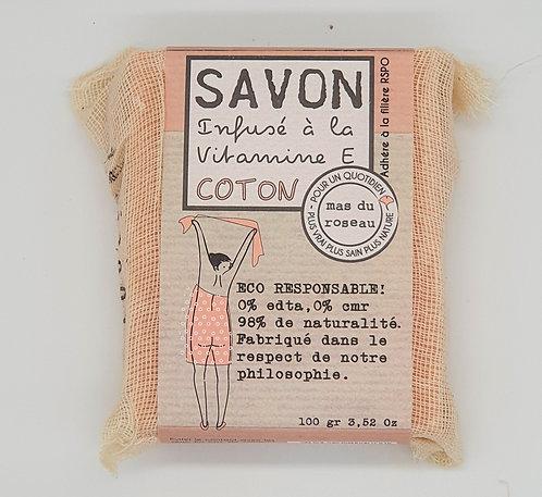 Savon Végétal coton