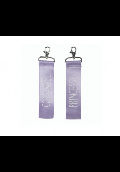 Porte-clés Princesse/Connasse
