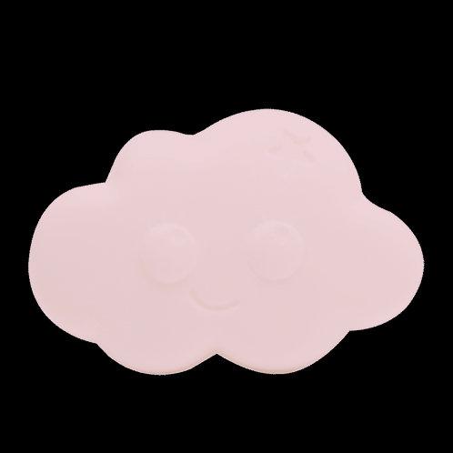 Savonnette framboise certifiée bio pour enfant -nuage