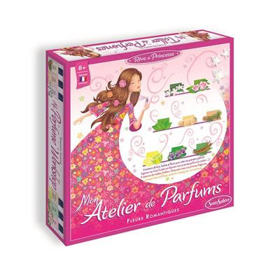 RÊVE DE PRINCESSE-ATELIER PARFUM-FLEURS ROMANTIQUE