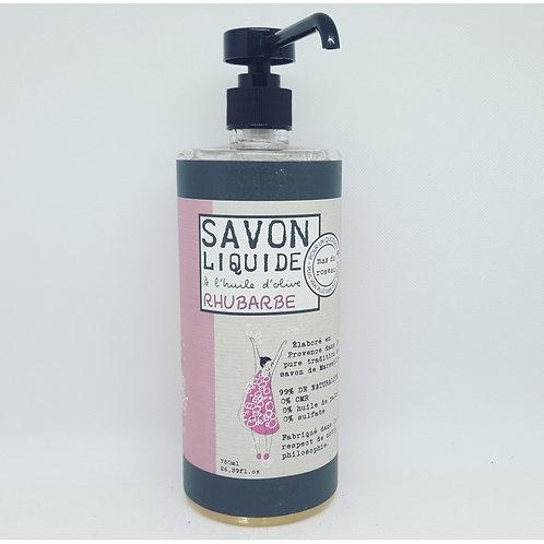 Savon Bio liquide Rhubarbe 750ml